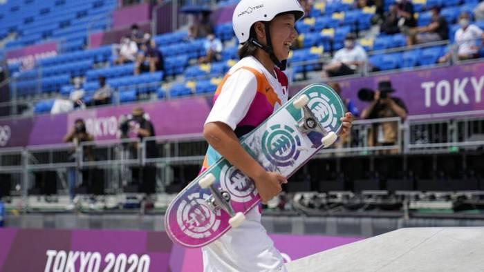 Video: Doppelsieg für Dreizehnjährige: Teenager mischen Olympia in Tokio auf
