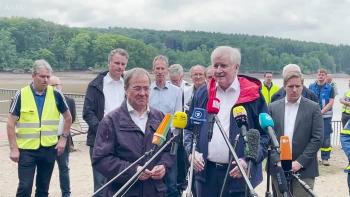 News video: Seehofer will Katastrophen-Warnung per SMS durchsetzen