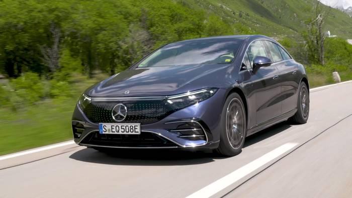 News video: Der neue Mercedes-Benz EQS - auf einen Blick