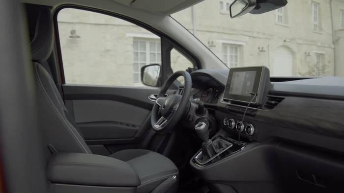 News video: Der neue Renault Kangoo - Das Interieurdesign