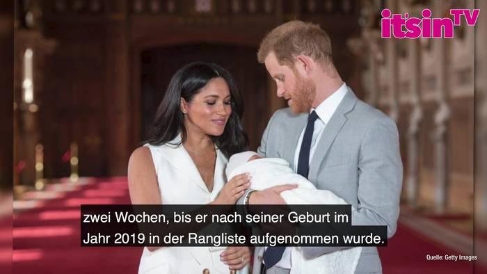 News video: Prinz Harry & Meghan: Tochter Lilibet ist jetzt Teil der Thronfolge