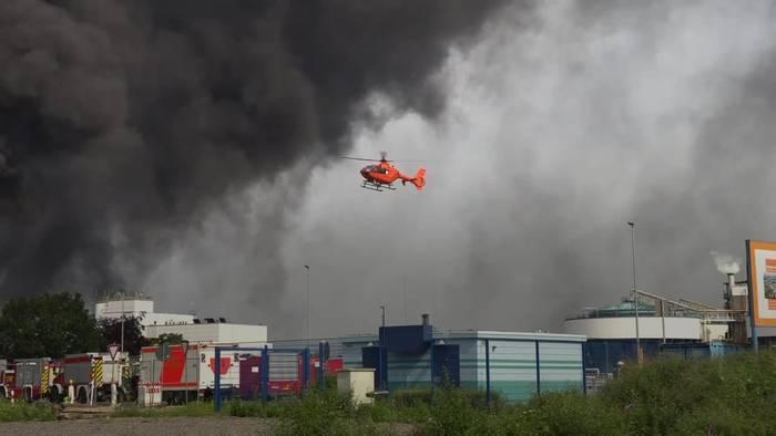 News video: Explosion im Chempark - mindestens ein Toter, viele