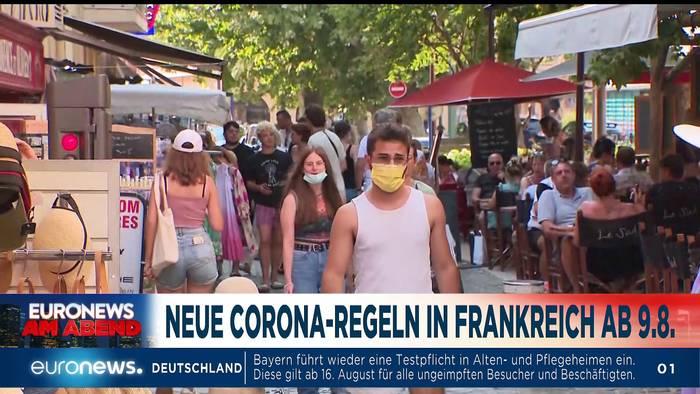 News video: Welche Corona-Regeln im Sommer 2021? Euronews am Abend 28.07.