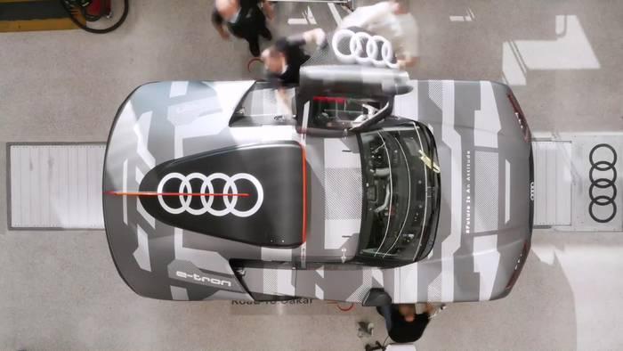 Video: Audi startet bei der Rallye Dakar