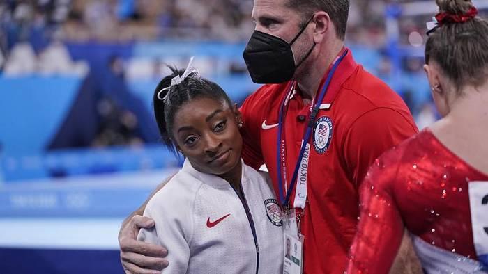 News video: US-Turnstar Simone Biles setzt bei Olympia aus: