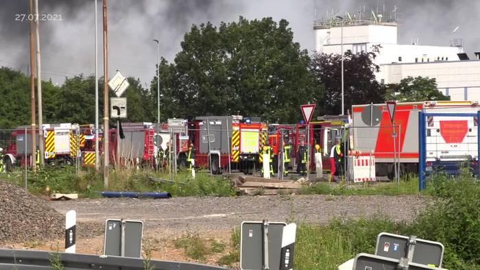 News video: Nach Explosion in Leverkusen: Warnung vor Giftwolke