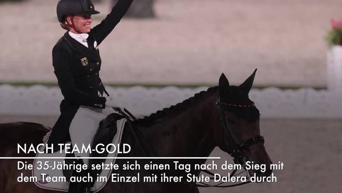 News video: Gold und Silber für Deutschland: Dressurreiterinnen souverän