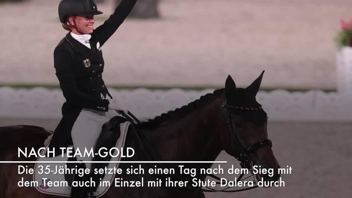 Video: Gold und Silber für Deutschland: Dressurreiterinnen souverän