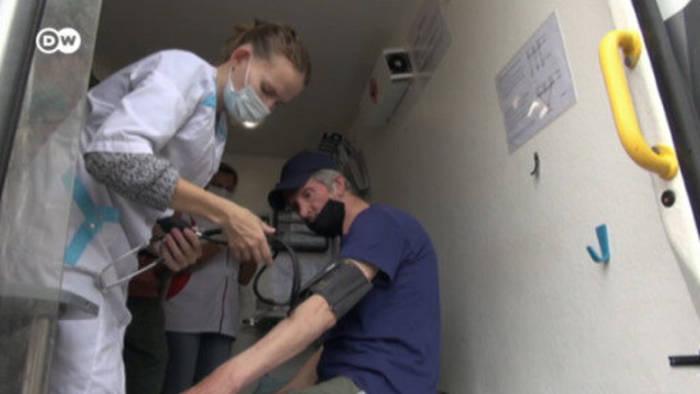 News video: Obdachlosen-Impfungen in Russland