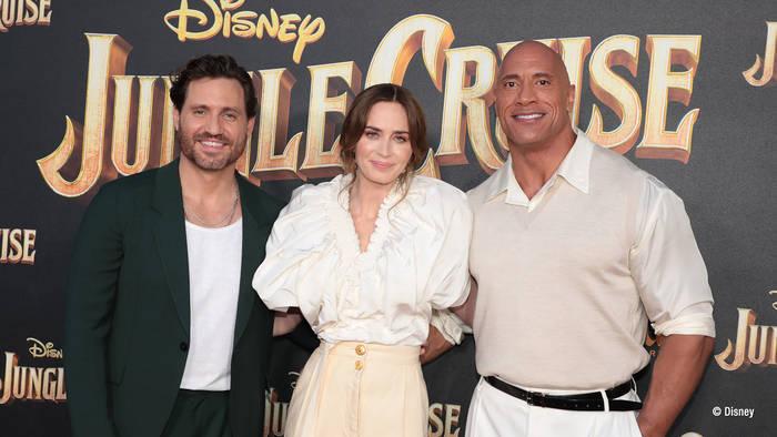 """News video: """"Jungle Cruise"""": So hielten die Stars am Set zusammen"""
