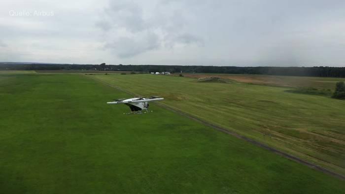 Video: Bayern: Airbus testet neues Lufttaxi