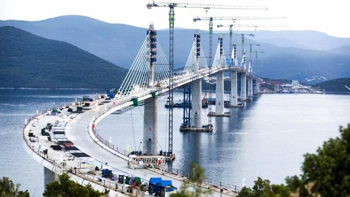 News video: Feierliche Einweihung: Kroatien ist durch Peljesac-Brücke vereint
