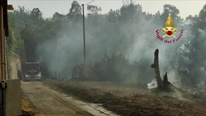 News video: Italien kämpft landesweit gegen Hunderte Waldbrände