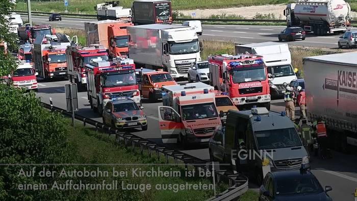 Video: Zu Ferienbeginn: Auf der A99 in Bayern droht ein Mega-Stau