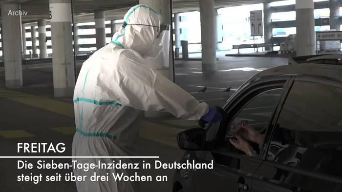 News video: Corona-Lage in Deutschland: RKI-Lagebericht vom 30. Juli