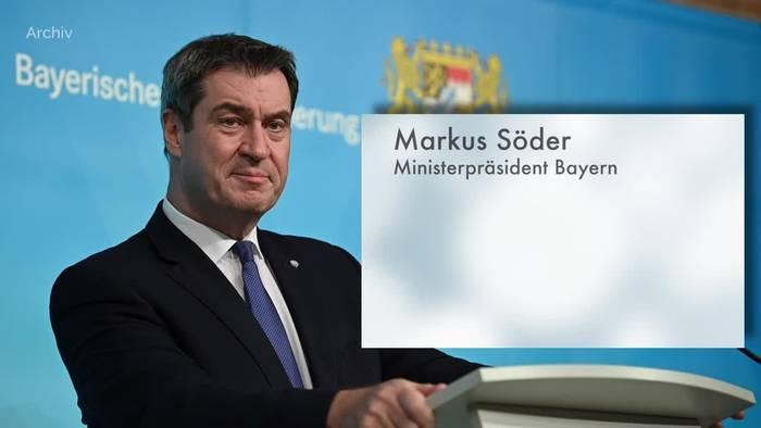 News video: Söder kritisiert Aiwanger wegen Haltung zum Impfen