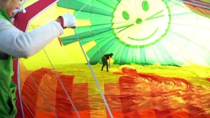 Video: Über den Wolken...im Ballon