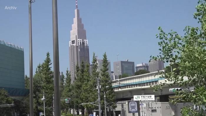 News video: Olympia-Stadt: Corona-Infektionen in Tokio auf Höchststand