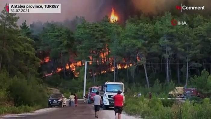 News video: Türkei: Die Flammen von Manavgat