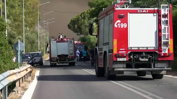 News video: Waldbrände wüten weiter: Süd- und Südosteuropa im Ausnahmezustand