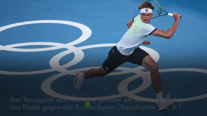 Video: Deutscher Tennisspieler Zverev gewinnt Olympia-Gold