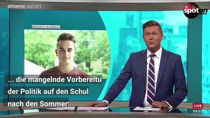 News video: Bundesschülerkonferenz: Generalsekretär Schramm fürchtet Schulstart