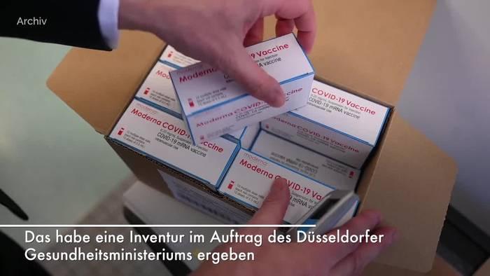 Video: In NRW liegen 2,3 Millionen ungenutzte Impfdosen