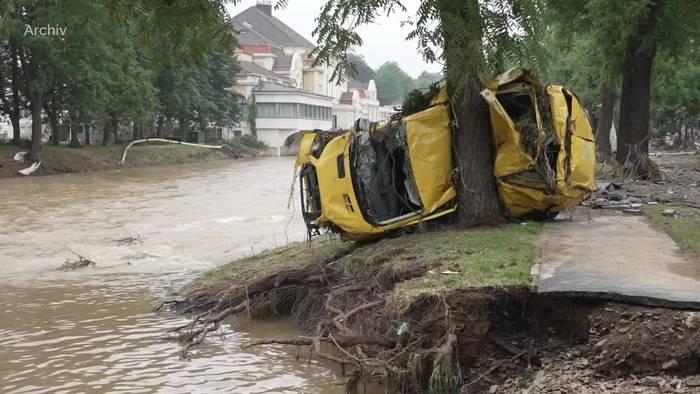 Video: Flutkatastrophe: Starkregen für Kreis Ahrweiler vorhergesagt
