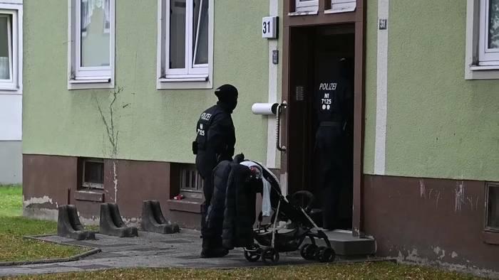 News video: Drogenrazzia in Wilhelmshaven: Über 30 Objekte durchsucht