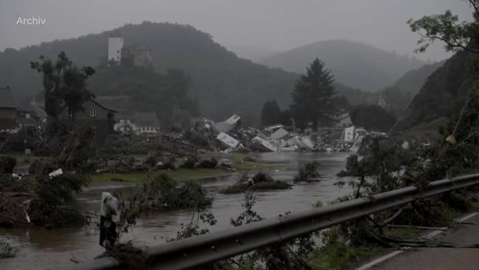 News video: Nach der Flut: Milliarden Euro für den Wiederaufbau