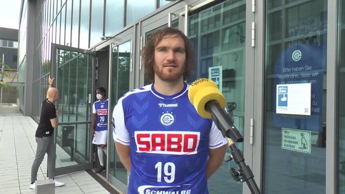 """News video: Gummersbachs Kapitän Timm Schneider: """"Mein Ziel bleibt die erste Liga"""""""