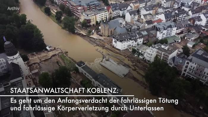 News video: Ahrweiler: Verfahren gegen Landrat wegen fahrlässiger Tötung