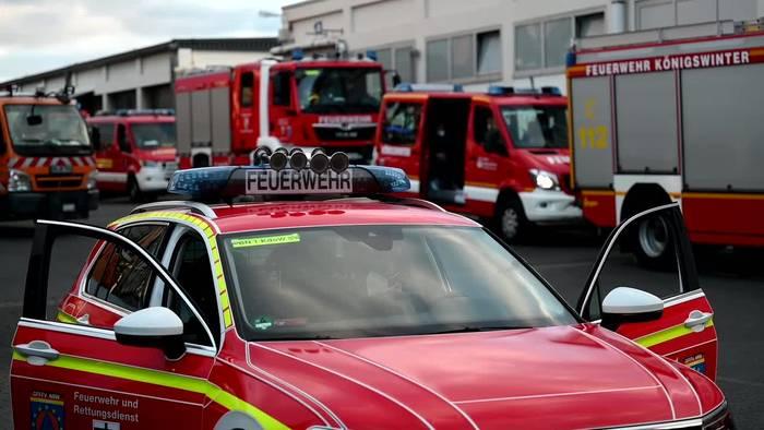 News video: Waldbrände: Feuerwehrkräfte aus NRW nach Athen gestartet