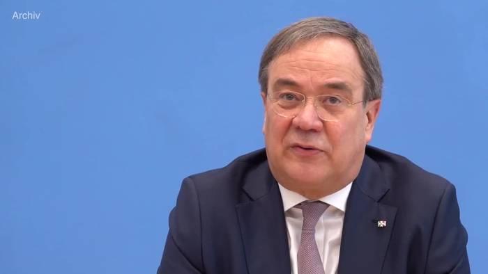 News video: Vor Bund-Länder-Treffen: Laschet präsentiert Corona-Plan