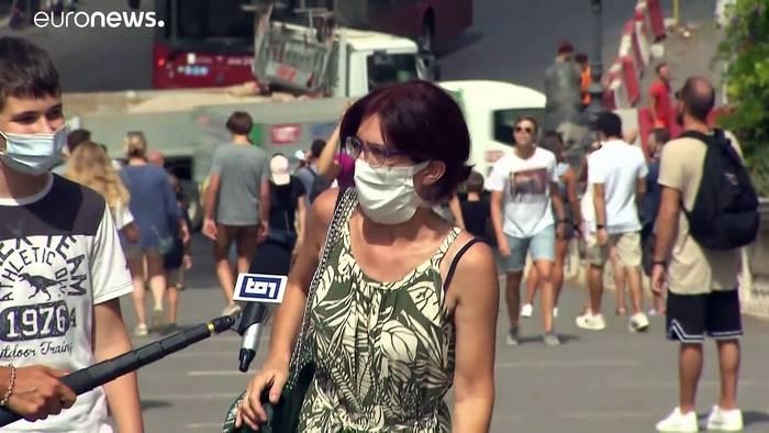 Video: Rekordhitze - Für 10 Städte in Italien gilt Alarmstufe Rot