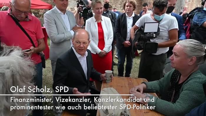 Video: Olaf Scholz: Der SPD-Kanzlerkandidat im Porträt