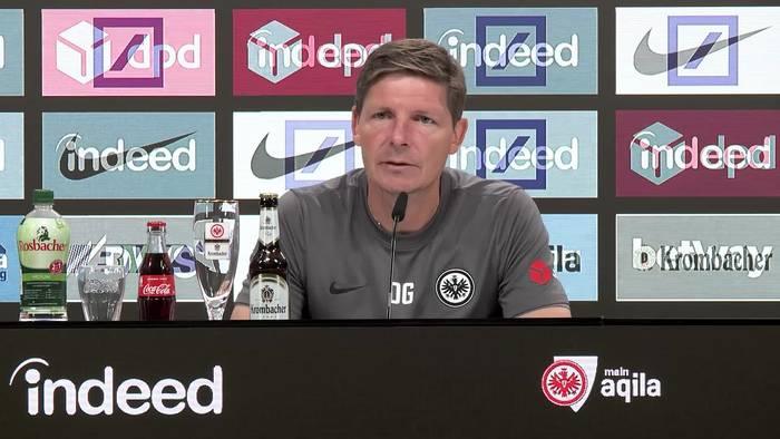 News video: Das sagt Frankfurts Trainer Glasner über Auftaktgegner Dortmund und einen möglichen neuen Stürmer