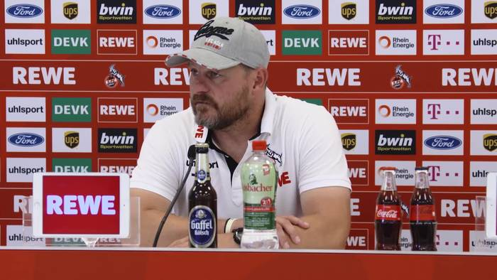 """News video: Kölns Trainer Steffen Baumgart: """"In Köln gibt es keine ruhige Saison"""""""