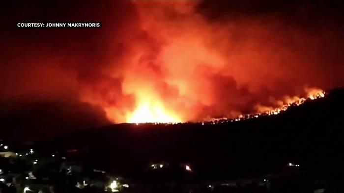 Video: Hochwasser, Brände, Tornado - Wetterchaos in Europa