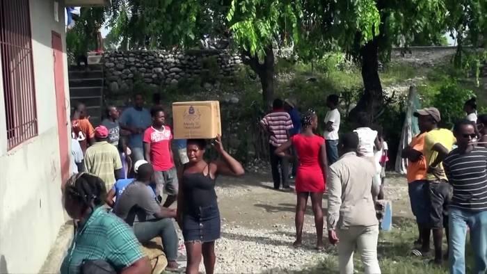 Video: Nach Beben in Haiti: 600.000 warten auf Humanitärhilfe