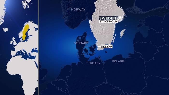 News video: Messerattacke an Schule in Schweden: 15-Jähriger festgenommen