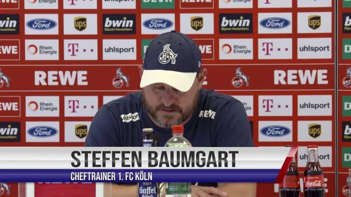 """Video: Kölns Cheftrainer Baumgart vor der Herkulesaufgabe beim FC Bayern: """"In erster Linie brauchst Du Mut"""""""