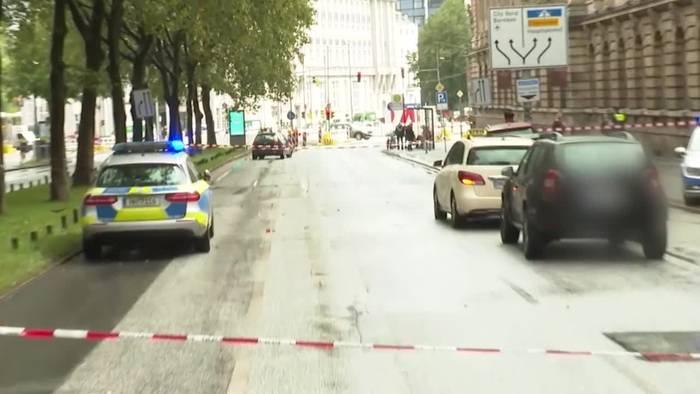 Video: Hamburg: Zeugen hören Schüsse - wohl ein Verletzter