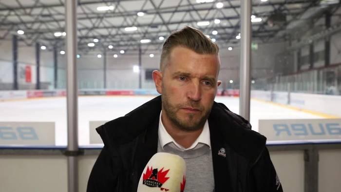 News video: So ordnen Frankfurts Sportdirektor Franz Fritzmeier und Trainer Bo Subr die klare Niederlage der Löwen gegen Aalborg ein