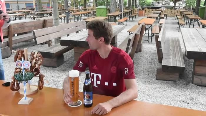 Video: Thomas Müller bekräftigt: Weiter für DFB-Elf unter Flick