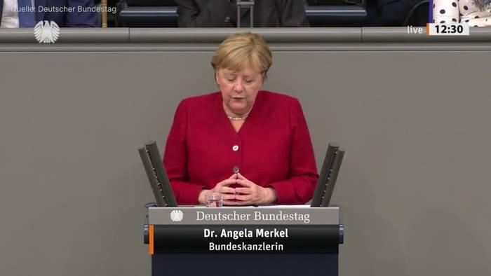 News video: Merkel für Verhandlungen mit den Taliban