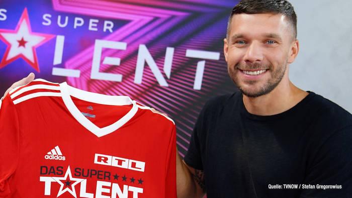"""Video: """"Das Supertalent 2021"""": Lukas Podolski verlässt die Jury"""
