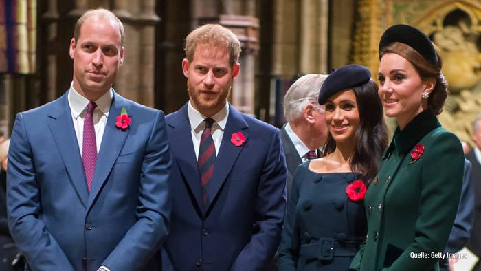 Video: Bald vereint? So läuft es zwischen Prinz Harry und William