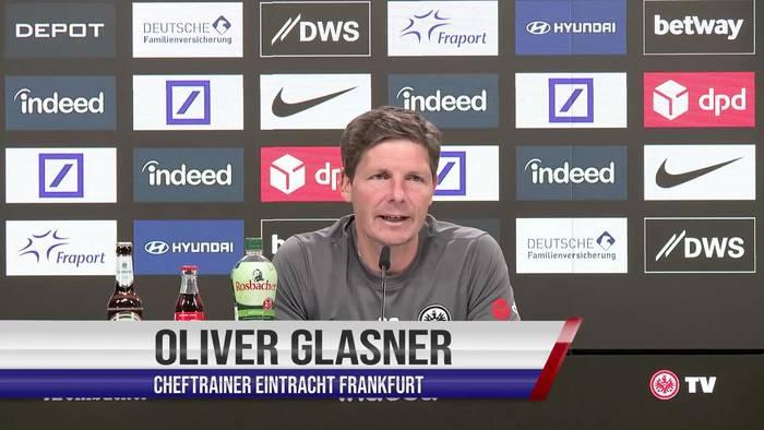 """Video: Eintracht-Coach Glasner: """"Viele schwierige Themen werden im stillen Kämmerlein gehalten"""