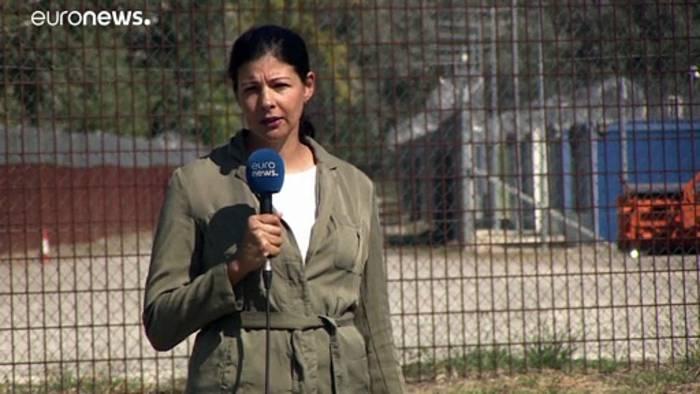 News video: Hinter Nato-Draht: Afghanische Ortskräfte im berüchtigten Camp Röszke